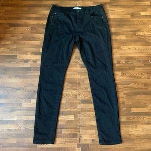 Mudd Juniors' FLX Stretch Faded Black Skinny Jeans